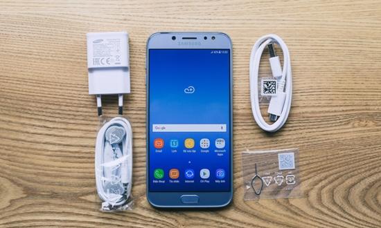 Samsung J7 Pro bi do cam ung