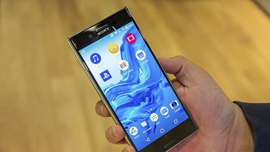Sony XZ Premium bi treo logo