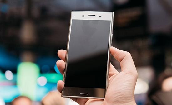 Sony XZ Premium khong len man hinh