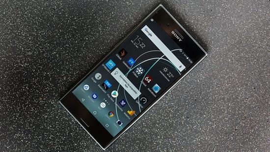Sony XZ premium bi nong may