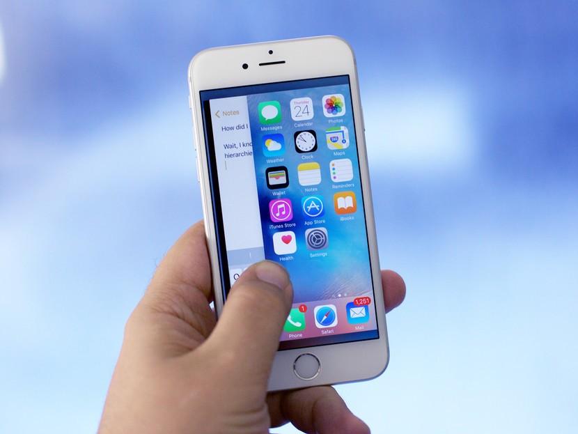 Xử lí lỗi iPhone 6s hao nguồn nóng máy đơn giản