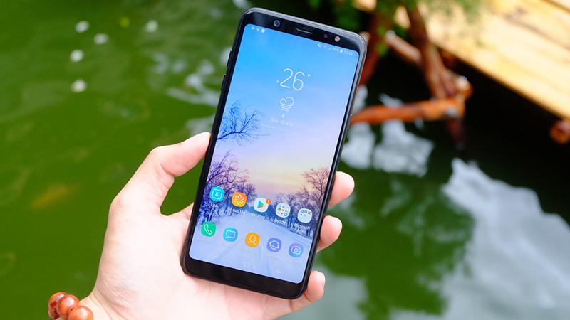 Khắc phục lỗi Samsung A6 Plus loạn cảm ứng